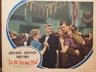 ORIGINAL LOBBY CARD 'I'LL BE SEEING YOU' GINGER ROGERS JOSEPH COTTEN 1944
