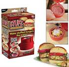 Pragmatic Convenient Stufz Stuffed Burger Press Hamburger Grill BBQ Patty Maker