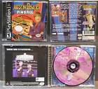 PS1 Austin Powers Pinball Sony Playstation 1 Tested Play Complete Black Label