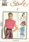 Vtg 1986 Uncut Style Sew Pattern 1065 Miss Sz 12-18 Set of Tops Factory Folded
