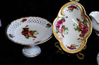 VTG LOT CENTERPIECE COMPOTE & CANDY DISH ROYAL SEALY CHINA JAPAN