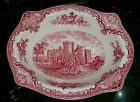 Johnson Brothers OLD BRITAIN CASTLES PINK Vegetable Bowl 9