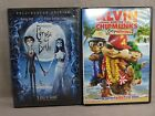 Corpse Bride  2005 &  2012  Alvin And The Chipmunks  Chipwrecked