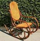 VTG Mid Century BENTWOOD Rocking Chair in THONET Style EXCELLENT