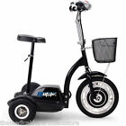 MotoTec Electric Trike 36v 350w Personal Transporter Scooter MT TRK 350