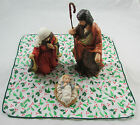 Vintage House Of Lloyd Christmas Around The World Nativity 6 Pc Set