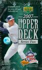 2007 Upper Deck Baseball Series 2 Factory Sealed Hobby Box