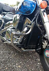 Honda VTX1300 Retro Custom Engine Crash Bar Guard with built in Highway Pegs