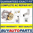 COMPLETE AC A C REPAIR KIT WITH NEW COMPRESSOR  CLUTCH FOR GEO METRO