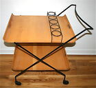 WROUGHT IRON BAR CART FREE SHIP