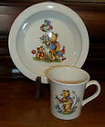 James Kent Old Foley Child's Mug and Bowl Teddy Bears