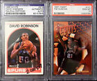 PSA DNA Rc Auto Lot Tim Duncan FINEST 10 David Robinson Rookie Signed Autograph