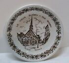 Sons English Ironstone Old Quebec Place Royale Small Plate England