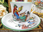 COLLINGWOOD RARE  NURSERY RHYME CHARACTERS TEA CUP AND SAUCER