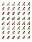 48 GRINCH CHRISTMAS ENVELOPE SEALS LABELS STICKERS 12 ROUND