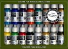 17ml Bottle Medieval Model Color Paint Set (16 Colors) Vallejo 70142
