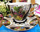 COURTING COUPLE PATTERN TEACUP