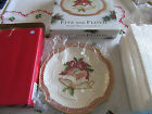 CHRISTMAS~FITZ AND FLOYD~HOLIDAY BELLS~CANAPE TRAY~ 2001~SUPER CUTE