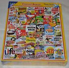 White Mountain Puzzles Cereal Boxes 1000 Piece Jigsaw Puzzle- NEW Sealed