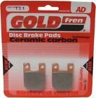 Sintered Goldfren Brake Pads For Rieju RS1 Castrol 50cc Front RH 1999-2001