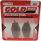 Sintered Goldfren Brake Pads For Gilera Apache 125 Rear RH 1991-1992