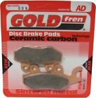 Sintered Goldfren Brake Pads For Benelli Caffe Nero 250 Front LH 2008-2010
