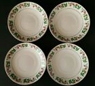 Gibson Holly Celebration Set of 4 Saucers 6