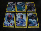 1990 Starting Lineup---Football Cards---Lot Of 6---Elway, Kelly, Bo Jackson, Etc