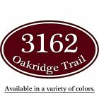 Custom House Address Sign Aluminum Plaque 12 x 7 Personalized Color Selections