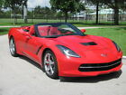 Chevrolet  Corvette 3LT Convt 3 lt red red chrome wheels auto red calipers only 5 k miles x clean fl