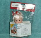 (743) FIBRE CRAFTS Air Freshener Dolll MRS. CLAUS #3427  NIP/SEALED