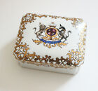 Antique Noritake M Hand Painted Box with British Royal Arms