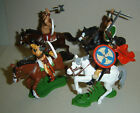 mounted VIKINGS ARGENTINA DSG Plastic Toy Soldiers set BRITAINS ancient warriors