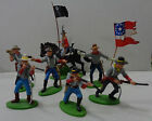 limited CONFEDERATE CAVALRY American Civil War DSG Argentina Soldiers Britains