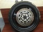 1995 YAMAHA YZF600R YZF 600 R THUNDER CAT FRONT WHEEL STRAIGHT ROTORS GOOD TIRE