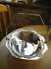 Pretty Silver Plated Swing Handled Fruit/Bread Basket