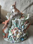 FITZ AND FLOYD CLASSICS COLLECTION WOODLAND SPRING COOKIE JAR VINTAGE RETIRED