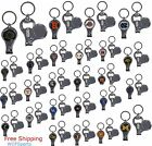 NCAA Licensed Keychain 3 in 1 with Nail Care  Bottle Opener Assorted Teams