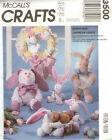 McCall's Crafts 3500 Bunny Hop Easter Floppy Egg Basket Sewing Pattern UNCUT NEW