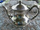 R. Wallace Silver Plate 10 Oz.Tea Pot # 0329S Silver Soldered