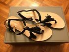 BCBG FLAT THONG-TOE SANDAL SIZE 6 - NEW WITH BOX