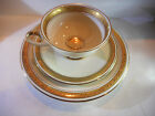 SCHUMANN BAVARIA TRIO MADE IN GERMANY CUP, SAUCER, PLATE SET #27