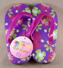 Funny Feet Girls Flip Flops Slippers Sandals Shoes New With Tags Size M L