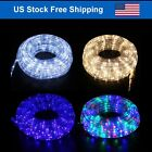 LED Christmas Rope Light Outdoor Indoor 8 Lighting Mode Party Holiday Decor Home
