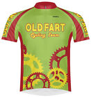 Primal Wear Old Fart Cycling Team Jersey Sprockets Mens Green bicycle bike + Sox