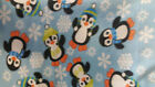Penguins Fleece Fabric by the Yard