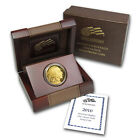 2010 W 1 oz Proof Gold Buffalo Coin with Box and Certificate