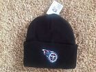 Tennessee Titans Black Officially Licensed NFL Cuffed Beanie Hat-BNWT's
