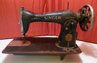 Vintage Singer Sewing Machine For Parts Or Repair 125255, Free Shipping !