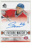 2014-15 SP Authentic Hockey Future Watch Autographs Gallery, Guide 75